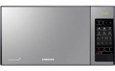 Cuptor cu microunde Samsung GE83X, 23 l, 800 W, Grill, Negru Oglinda