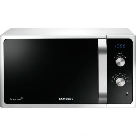 Cuptor cu microunde Samsung MS23F301EAW, 23 l, 800 W, Mecanic, Alb