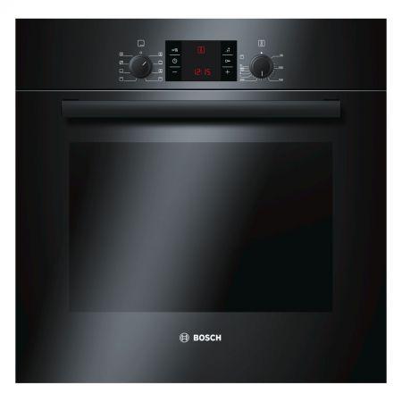 Cuptor incorporabil Bosch HBA43T360, Electric, 60 l, 7 functii, Grill, Clasa A, Negru