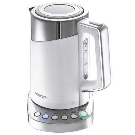 Fierbator Concept RK3170, 2200 W, Termoreglare, Cool Touch 1.7 l, Alb