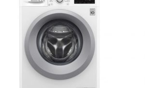 Masina de spalat rufe LG F2J5QN4W, Direct Drive, 7 kg, 1200 RPM, Clasa A+++, Alb , 60 cm Argintiu