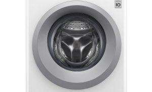 Masina de spalat rufe Slim LG F2J5WN4W, Direct Drive, 6.5 kg, 1200 RPM, Clasa A+++, 45 cm, Alb