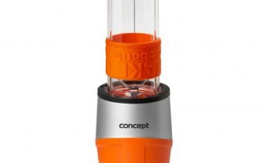 Mini Blender Concept SM-3381, 500 W, 23000 rpm, Smoothie, recipient 570 ml, fara BPA, Portocaliu