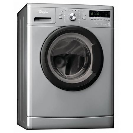 Masina de spalat rufe 6th Sense Colours Whirlpool FDLR 70220 S, 7 kg, 1200 RPM Display Smart, Clasa A+++, Silver