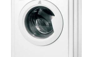 Masina de spalat rufe Indesit IWUD41051C, Super Slim 32.3 cm, 4 kg, 1000 RPM, Clasa A+, Alb