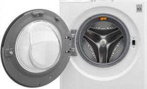 Masina de spalat rufe LG F4J7TY1W, Direct Drive, SpaSteam, Turbowash, Wifi, 8 kg, 1400 RPM, Clasa A , 60 cm, Alb