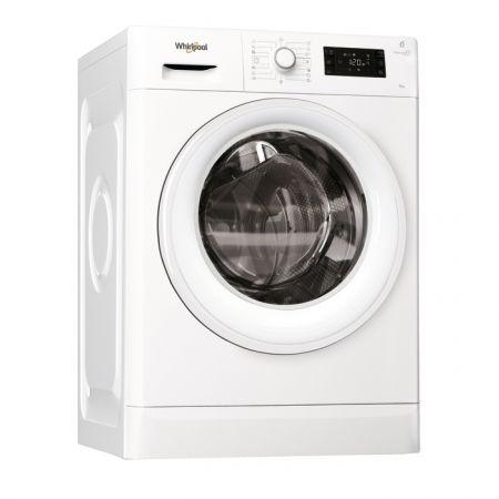 Masina de spalat rufe Whirlpool FreshCare+ FWG91484W EU, 6th Sense Colours, 9 kg, 1400 RPM, Clasa A+++, Alb