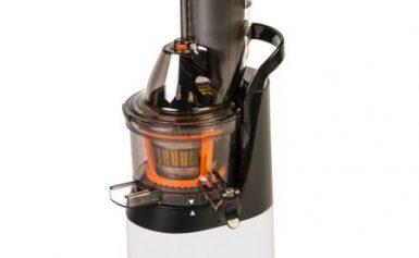 Storcator cu melc Oursson Vitality JM6001/IV, 240 W, 60 RPM, Recipient suc 1 l, Alb