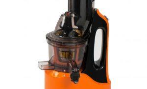 Storcator de fructe si legume cu melc Oursson JM7002/OR, 240 W, 60 RPM, Recipient suc 1 L, Portocaliu