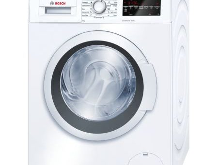 Masina de spalat rufe Bosch WAT24460BY, 8 kg, 1200 RPM, Clasa A+++, 60 cm, Alb