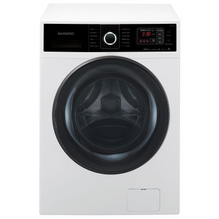 Masina de spalat rufe Daewoo DWD-HC9241B, Air Bubble 4D, 9 kg, 1200 RPM, Clasa A+++, 60 cm, Alb