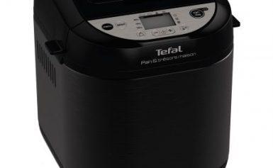 Masina de paine Tefal Pain et Tresors Maison PF251835, 700W, 3 setari, 20 programe, pornire programa, Negru