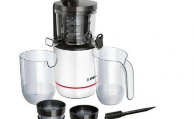 Review Bosch MESM500W – storcator cu melc cu doua filtre