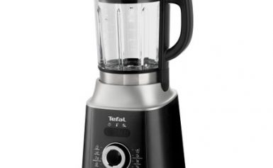 Blender Tefal Ultrablend Cook BL962B38, 1300W, 10 viteze, recipient 1.75L, 6 lame, Gri