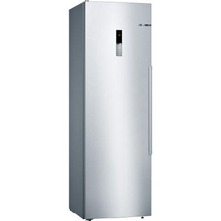 Frigider cu o usa Bosch KSV36BI3P, 348 L , FreshSense Clasa A++, H 186 cm, Inox