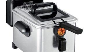 Friteuza semi-profesionala Tefal Filtra Pro 3L FR510170, 2400W, 3L, 1.2Kg de cartofi prajiti, Termostat 150 – 190°C, Filtru detasabil, Inox