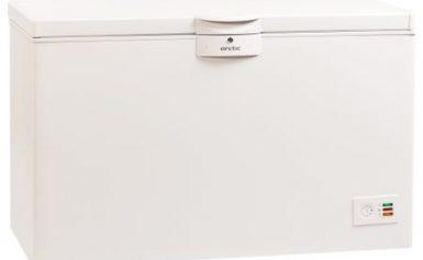 Lada frigorifica Arctic O40+, 360 L, Clasa A+, Fast Freezing, Securizare cu yala, Alb