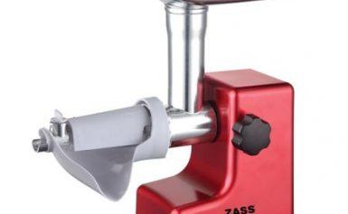 Masina de tocat Zass ZMG 03, 800W, Accesoriu de rosii inclus