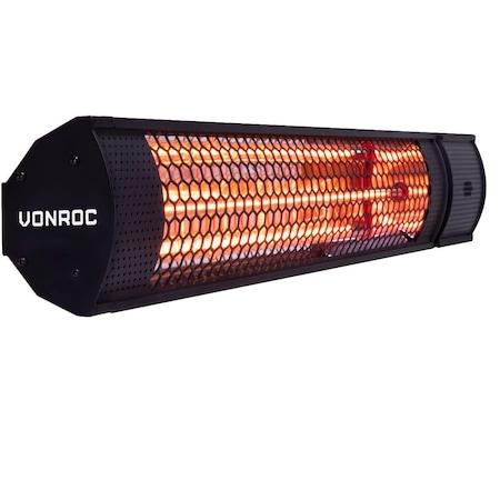 Incalzitor terasa VONROC, PH502AC, 2000W | Review si Recomandari